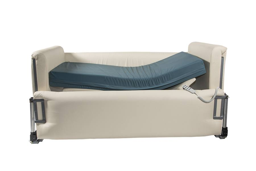 Padded Adjustable Hospital Bed - Novacorr Healthcare