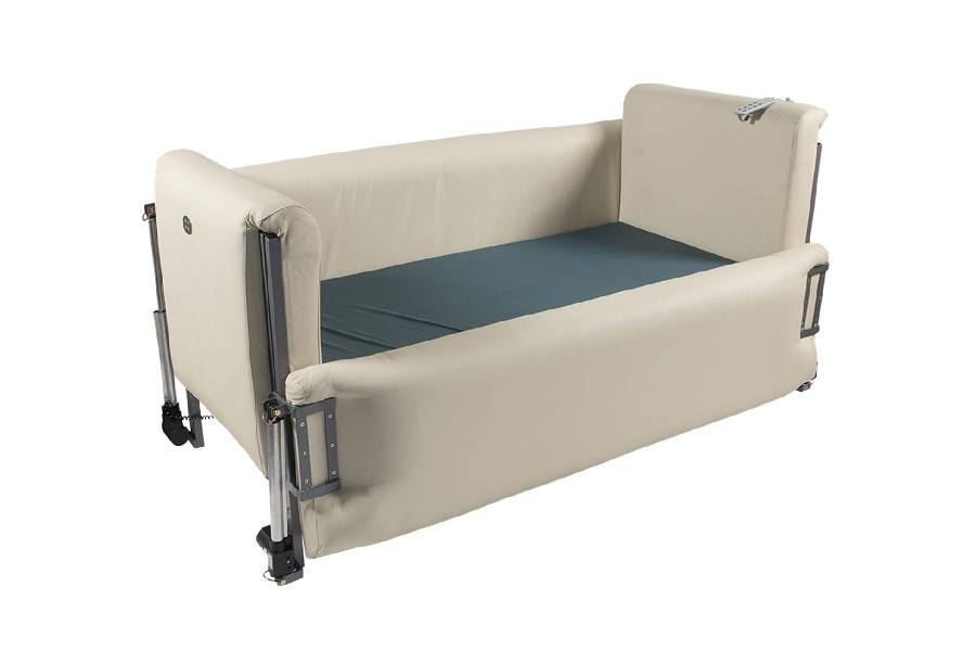 Hilo Padded Huntingtons Bed - Novacorr Healthcare